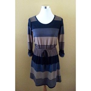 Dresses & Skirts - Stripe Knit Dress