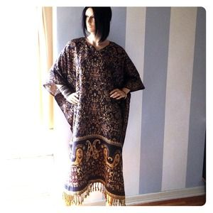 Fantastic brocade tapestry tunic