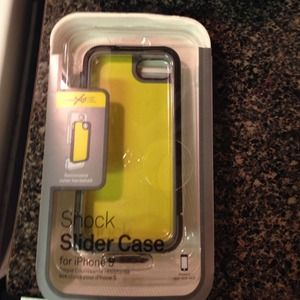 Accessories - SaleIncase Shock Slider case for iPhone 5 grey blk