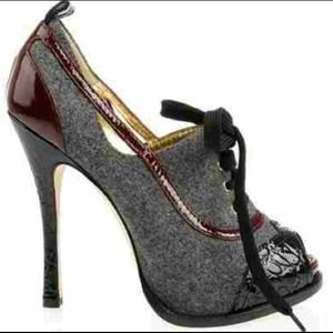 dsquared Shoes - Authentic Dsquared tweed and patent heels