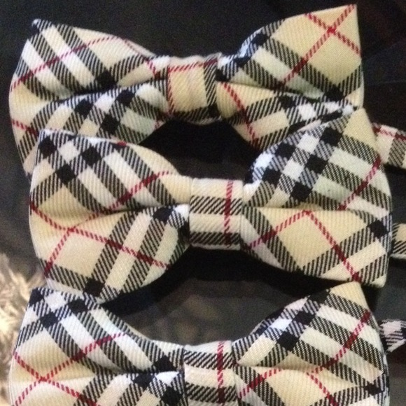 Burberry Style Bow Tie For Boys Or Men💙 Os From Lisy S