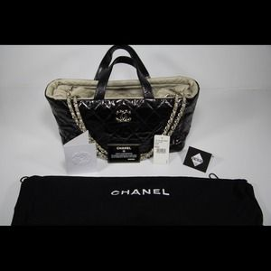 Chanel Quilted Calfskin & Lambskin Portobello Bag