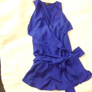 Like NEW* Forever21 cobalt woven top