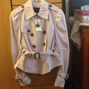 BCBG Jackets & Blazers - ✂️REDUCED✂️ BCBG blush coat