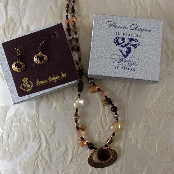 Premier Design Jewelry S Rustic Necklace And Earrings