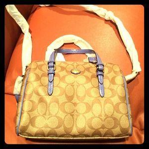 Coach mini Satchel handbag