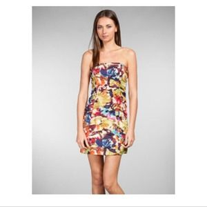 BB Dakota Mandie Bloom Dress in Black Orchid