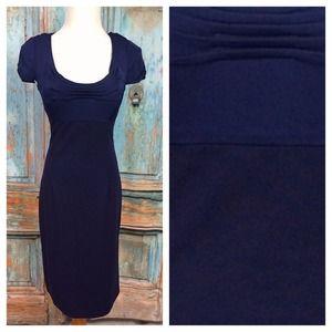 NWT Elie Tahari cap short sleeve dress