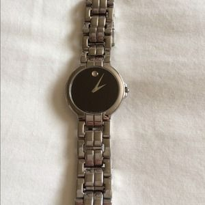 Authentic Men's Movado Stainless Steel Watch