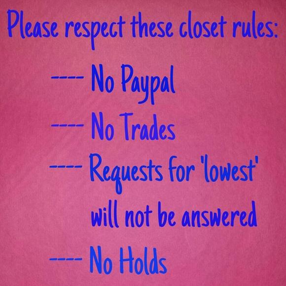 My closet rules!!