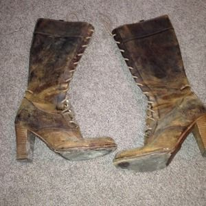 Authentic frye boots