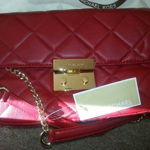 Michael Kors Red Sloan Bag