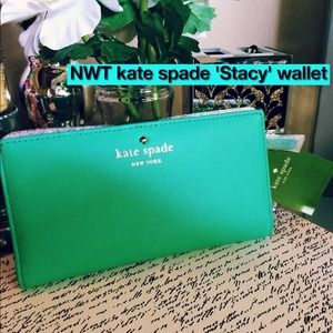 NWT kate spade 'Stacy' Wallet in 'Brightberry'