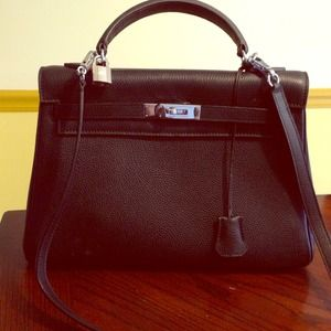 cheap hermes birkin bag - Leather hermes kelly inspired bag OS from Ashley's closet on Poshmark