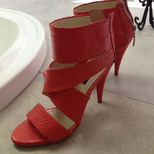 Zara high-heel sandal.