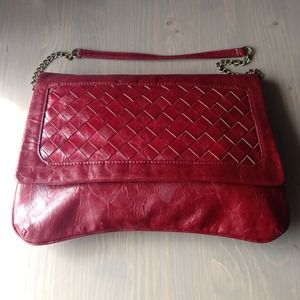 Rouge Melie Bianco woven shoulder bag