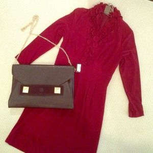 Taylor Dress Dresses & Skirts - Burgundy Pencil Dress Sz. 2