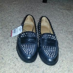 Zara Shoes - Studded Zara loafers