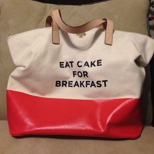 Kate Spade Eat Cake for Breakfast Bag
