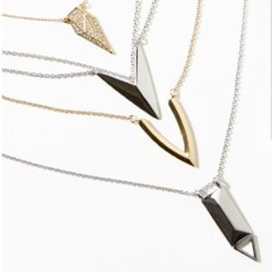 Jewelry - geometric necklace