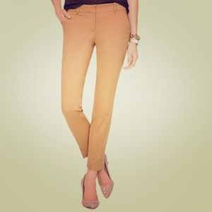 J. Crew Pants - J. Crew Cafe Capri Pant in a Dusty Khaki