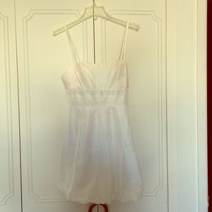 White Bubble Dress