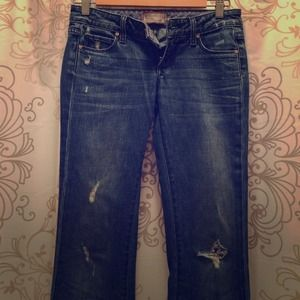 Slightly distressed PAIGE JEANS!