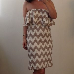 Judith March Dresses - Judith March Chevron Dress