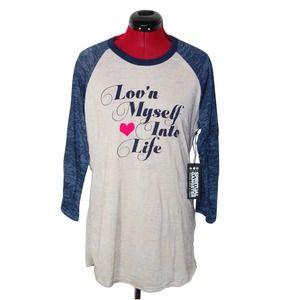 NWT Spiritual Gangster Burnout Shirt