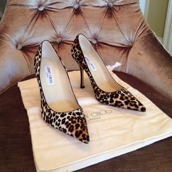 3d1d70fd8041 ... official jimmy choo pony hair leopard print pumps c3695 ed2cd