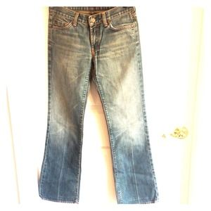 7 for all mankind jeans, awesome vintage color!