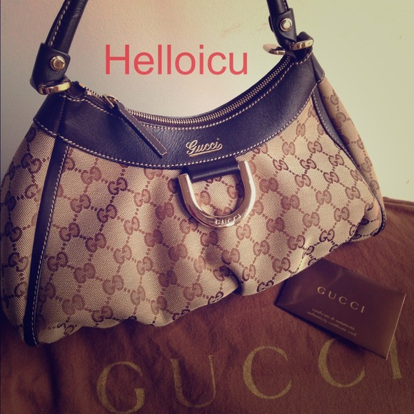 b4bf71d45ca5 Gucci Bags | Authentic Abbey D Ring Hobo Old | Poshmark