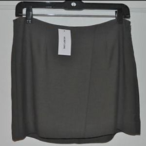 Helmut Lang gray skirt