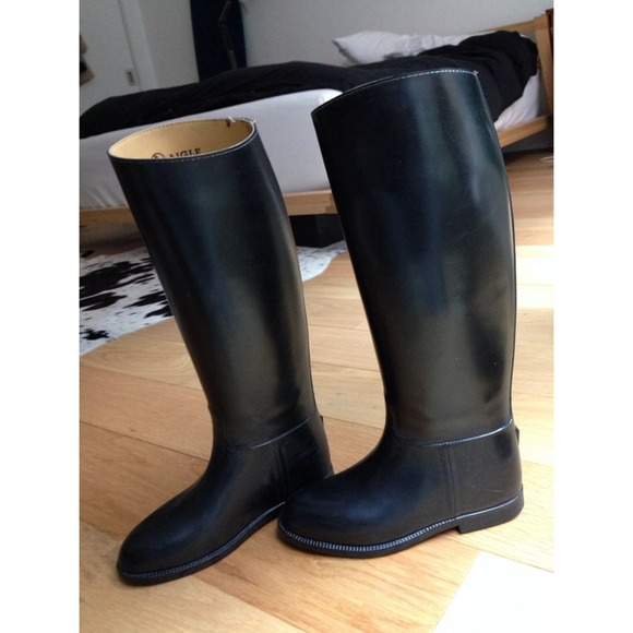 61% off Aigle Boots - Aigle riding boots rain boots coupe saumur ...
