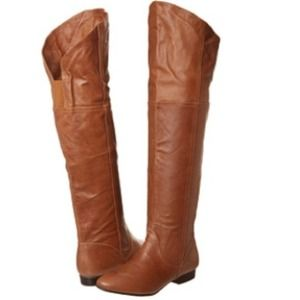 Tan Over-the-Knee Boots