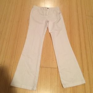 Express wide legs white jeans
