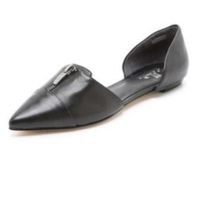 Belle by Sigerson Morrison Shoes - Belle by Sigerson Morrison black D'Orsay flats