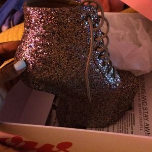 Jeffrey Campbell Shoes - Jeffrey Campbell night lita glitter