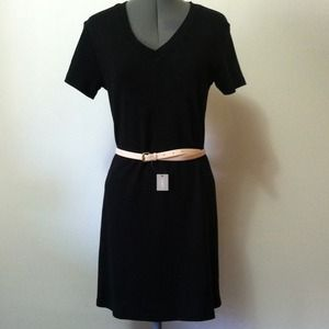 🎉PM Editor Share🎉 J Crew Tee Shirt Black Dress