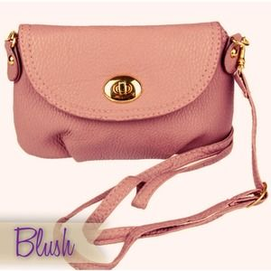 Blush Cross-body Satchel