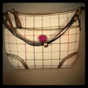 Coach Heritage Tattersall shoulder bag