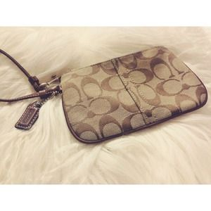 Coach Handbags - Authentic Coach Wristlet