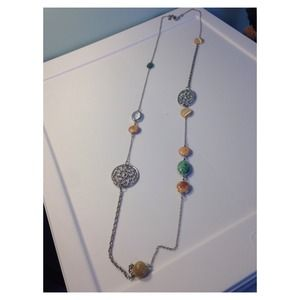 Multicolor color necklace