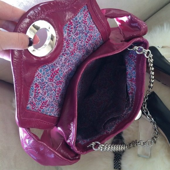 Marc by Marc Jacobs Bags - ❌BUNDLED❌ Raspberry Patent Marc by Marc Jacobs Bag