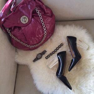 Marc by Marc Jacobs Bags - ❌BUNDLED❌ Raspberry Patent Marc by Marc Jacobs Bag 1