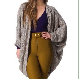 American Apparel Sweaters - Boucle Shawl Cardigan