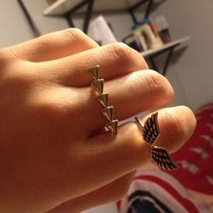 Wing & Arrow rings