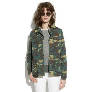 🆕Madewell Camo Outbound Jacket