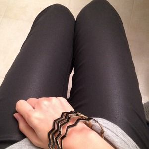 J Brand Pants - JBrand black coated denim leggings!