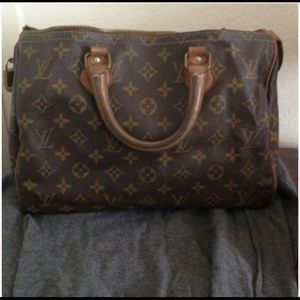 Louis Vuitton French speedy 30
